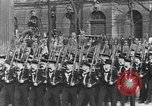 Image of Adolf Hitler in Nazi rally at Zeppelin Field in Nuremberg Germany, 1933, second 31 stock footage video 65675071551