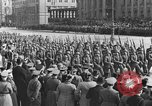 Image of Adolf Hitler in Nazi rally at Zeppelin Field in Nuremberg Germany, 1933, second 39 stock footage video 65675071551