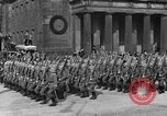 Image of Adolf Hitler in Nazi rally at Zeppelin Field in Nuremberg Germany, 1933, second 46 stock footage video 65675071551