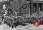Image of Adolf Hitler in Nazi rally at Zeppelin Field in Nuremberg Germany, 1933, second 47 stock footage video 65675071551