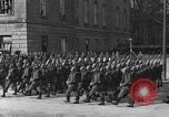Image of Adolf Hitler in Nazi rally at Zeppelin Field in Nuremberg Germany, 1933, second 56 stock footage video 65675071551