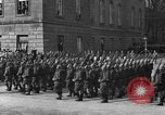 Image of Adolf Hitler in Nazi rally at Zeppelin Field in Nuremberg Germany, 1933, second 57 stock footage video 65675071551