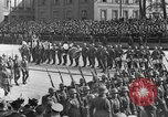 Image of Adolf Hitler in Nazi rally at Zeppelin Field in Nuremberg Germany, 1933, second 59 stock footage video 65675071551
