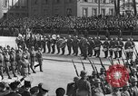 Image of Adolf Hitler in Nazi rally at Zeppelin Field in Nuremberg Germany, 1933, second 60 stock footage video 65675071551