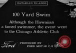 Image of swimming race Hawaii USA, 1916, second 1 stock footage video 65675071572