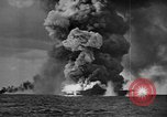 Image of USS Franklin Pacific Ocean, 1945, second 15 stock footage video 65675071582