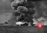 Image of USS Franklin Pacific Ocean, 1945, second 16 stock footage video 65675071582