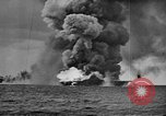 Image of USS Franklin Pacific Ocean, 1945, second 17 stock footage video 65675071582