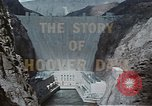 Image of Hoover Dam United States USA, 1962, second 22 stock footage video 65675071601