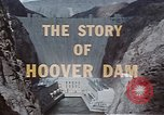Image of Hoover Dam United States USA, 1962, second 23 stock footage video 65675071601
