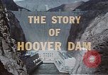 Image of Hoover Dam United States USA, 1962, second 24 stock footage video 65675071601