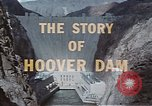 Image of Hoover Dam United States USA, 1962, second 25 stock footage video 65675071601
