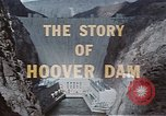 Image of Hoover Dam United States USA, 1962, second 26 stock footage video 65675071601