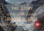 Image of Hoover Dam United States USA, 1962, second 27 stock footage video 65675071601