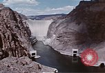 Image of Hoover Dam Nevada United States USA, 1962, second 34 stock footage video 65675071607