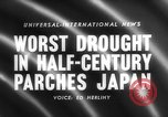 Image of drought Japan, 1958, second 5 stock footage video 65675071621