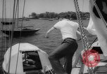Image of life raft New York United States USA, 1958, second 18 stock footage video 65675071622