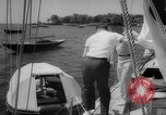 Image of life raft New York United States USA, 1958, second 19 stock footage video 65675071622