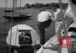 Image of life raft New York United States USA, 1958, second 20 stock footage video 65675071622