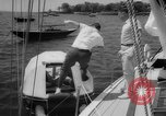 Image of life raft New York United States USA, 1958, second 21 stock footage video 65675071622
