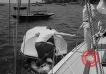 Image of life raft New York United States USA, 1958, second 22 stock footage video 65675071622