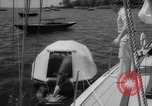 Image of life raft New York United States USA, 1958, second 24 stock footage video 65675071622