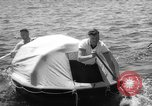Image of life raft New York United States USA, 1958, second 36 stock footage video 65675071622