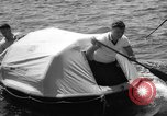 Image of life raft New York United States USA, 1958, second 38 stock footage video 65675071622