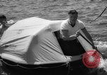 Image of life raft New York United States USA, 1958, second 39 stock footage video 65675071622
