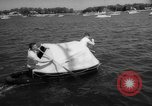 Image of life raft New York United States USA, 1958, second 44 stock footage video 65675071622