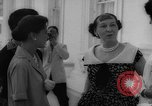 Image of Mamie Eisenhower with Latin American beauty queens Washington DC USA, 1958, second 24 stock footage video 65675071624