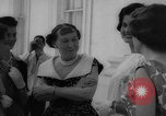 Image of Mamie Eisenhower with Latin American beauty queens Washington DC USA, 1958, second 29 stock footage video 65675071624