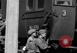 Image of liberated orphan children from Buchenwald Concentration Camp Buchenwald Germany, 1945, second 34 stock footage video 65675071632