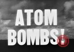 Image of atom bomb Bikini Atoll Marshall Islands, 1946, second 22 stock footage video 65675071634