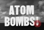 Image of atom bomb Bikini Atoll Marshall Islands, 1946, second 23 stock footage video 65675071634