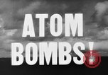 Image of atom bomb Bikini Atoll Marshall Islands, 1946, second 25 stock footage video 65675071634