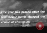 Image of atom bomb Bikini Atoll Marshall Islands, 1946, second 40 stock footage video 65675071634