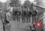 Image of burial service Germany, 1945, second 10 stock footage video 65675071656