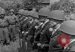Image of burial service Germany, 1945, second 27 stock footage video 65675071656