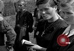 Image of burial service Germany, 1945, second 37 stock footage video 65675071656