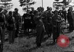 Image of burial service Germany, 1945, second 55 stock footage video 65675071656