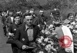 Image of burial service Germany, 1945, second 13 stock footage video 65675071658