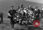 Image of burial service Germany, 1945, second 22 stock footage video 65675071658