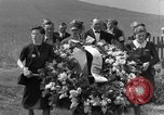 Image of burial service Germany, 1945, second 23 stock footage video 65675071658