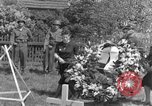 Image of burial service Germany, 1945, second 32 stock footage video 65675071658