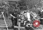 Image of burial service Germany, 1945, second 34 stock footage video 65675071658