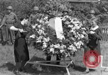 Image of burial service Germany, 1945, second 39 stock footage video 65675071658