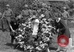 Image of burial service Germany, 1945, second 42 stock footage video 65675071658