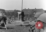 Image of burial service Germany, 1945, second 48 stock footage video 65675071658