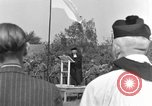 Image of burial service Germany, 1945, second 5 stock footage video 65675071659